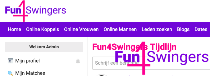 Fun4Swingers dating voor swingers